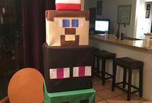 minecraft birthday diy
