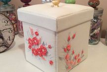 Boxes / Embroided Box