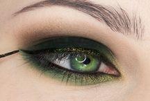 зелёные глазп