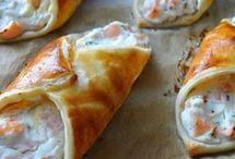 feuilleté saumon ricota