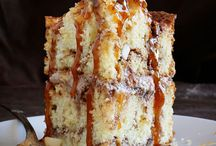 Best Caramel apple cinnamon cake