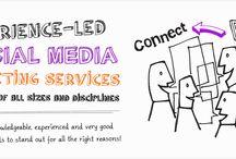 Orbital Media Website / Here's a few shots from the Orbital Media Social Media Marketing Website