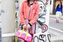 Tokyo Styling / by Melanie Augustin (Kimono Reincarnate)