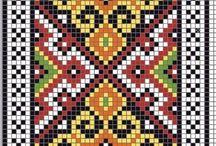 Wayuu / ribbon / çanta / sepet