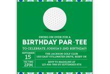 Golf Birthday Party!