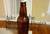 Jake and neverland pirate theme  / by Kayla Wilson