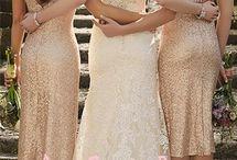 Brudepike kjole