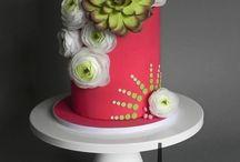 torta virággal