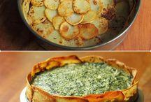 patates içinde ispanak