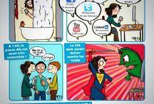 Infographies en français sur les réseaux sociaux / Infographies en lien avec les réseaux sociaux en français