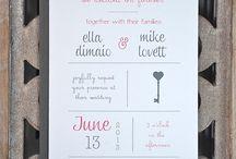 Wedding: Invitations/Kutsut