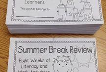 School: Summer Break / by Charity Lane