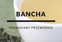 Herbaciany przewodnik / Każda herbata jest wyjątkowa! Tablica to zbiór opisów każdej herbaty.