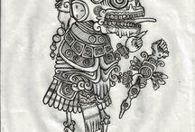 Tatuajes prehispánicos ♥