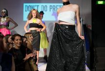 Raw Confidence on the Runway / Raw Adelaide, Signature Event, April 2016 at Producers Hotel.  Hair - Hair by Marcela Make Up - My Canvas by Tammie Smith