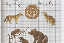 BRODERIES ANIMAUX