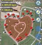 Planimeter  / Coordinate, area, distance, angle  measurements on Google Maps