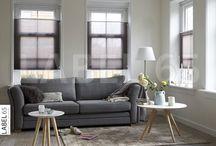 Plisse gordijnen / Vrijhangende plisse gordijnen in top down bottom up uitvoeringen geven uw huis extra sfeer!