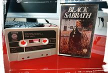 Black Sabbath Cassette's / A Collection Of Black Sabbath Cassettes.  For Lovers Of The Pioneering Metal Forefathers On Old Tape Format