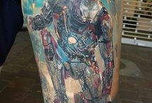 Ironman tattoo
