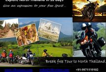 Mike's Itinerary for 10 Days off beat Holiday Experience / Hi Friends, having done more than 6000 km in North Thailand here is my recommendation for an off beat experience to a different Thailand - into the hills of culture rich North Thailand. You could go on a family holiday, self drive outing, a golfing holiday or a motorcycle experience of a lifetime ... Here is what i feel will satiate all your desires of a fullsome holiday .. far from maddening crowds ... Mike, Viktorianz.