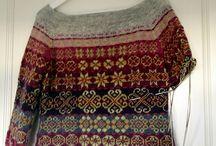 Fair Island knitting