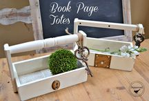 Decor: Repurposed Drawer Inspiration / Find some great repurposed drawer ideas.  Turn those ugly unused drawers into great storege.