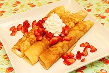 Crapes different types and ingredients