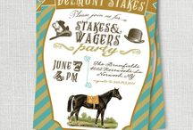Belmont Stakes Viewing Party / Great ideas for your next horse racing party!