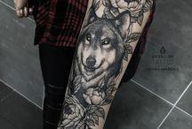 Wolf tatoo❤️