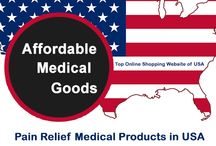 Pain Relief Medical  Products in USA / Affordable medical goods provide the best collection of Pain Relief Medical Products in USA. Any kind of Neck, Back, Elbow, Shoulder, Hip, Neck, Knee products and many more medical goods are available here. Order online anywhere form USA. Visit www.affordablemedicalgoods.com