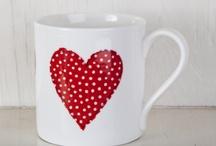 Mugs / painted mugs