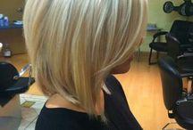 Polodlhé vlasy