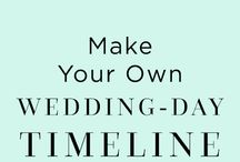 Weddind day tips and ideas!