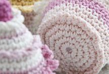 pletené košíčky