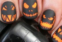 Halloween / Nail art, DIY