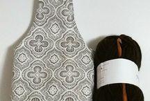 Bolsa para tejido de tela