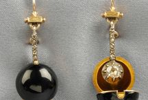 Inspiration: Earrings, Antique