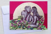 Valentinstag-St. Valentine's Day-san Valentino / Postkarten-Liebe-postcards-love-cartoline amore