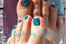 happy feet  gel pedicure
