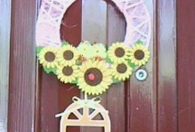 ghirlande fuori porta (outdoor wreath)
