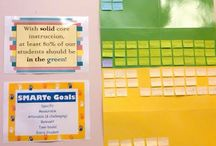 Data folders/walls / by Rhonda Washington