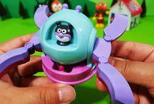 バイキンUFOとドキンUFO!❤アンパンマン アニメ&おもちゃ Anpanman toys