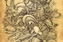 Chinese traditional tattoo book