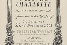 Invites and typography
