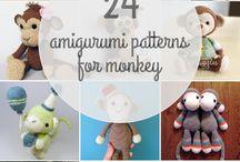 Scimmie - Monkey crochet