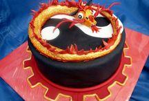 Dorty s čínským drakem / sladkého pečení