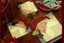 guardanapos de natal