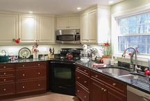 Two Toned Kitchens / Dream Kitchens, Located in Nashua New Hampshire, Winner of over 200 awards!  / by Dream Kitchens-Kitchen and Bathroom remodeling