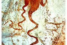 古代 壁画 レリーフ 像 / 地球外生命体が残した歴史をタドル